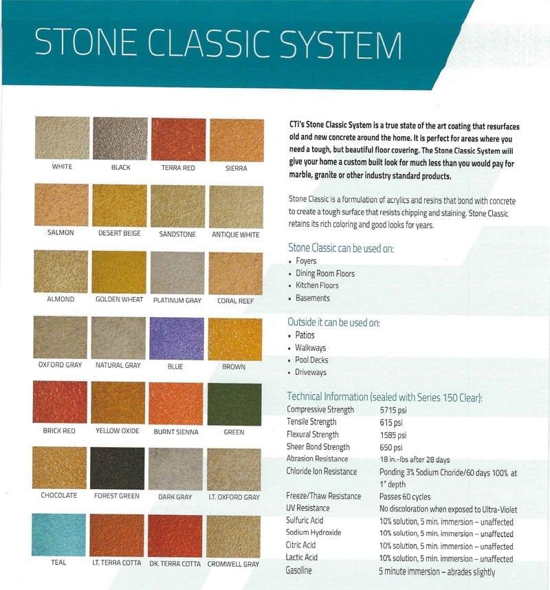 Stone CLassic