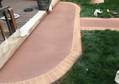 Patio Path After